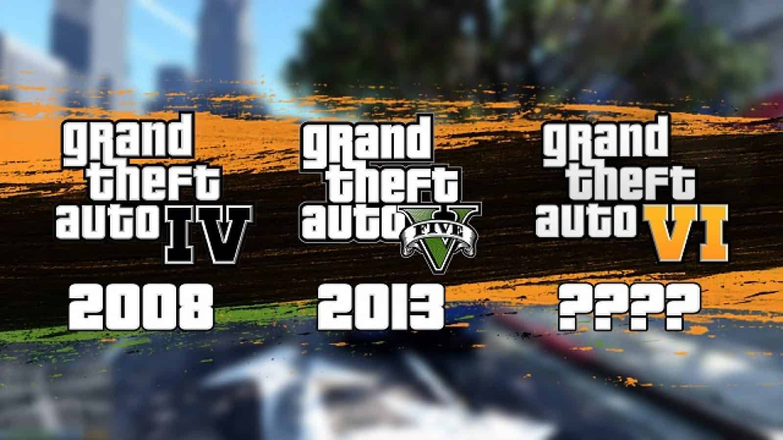 When will GTA 6 be released? Comparing previous GTA games